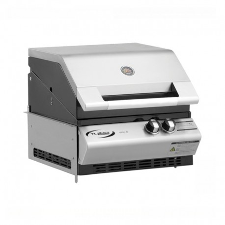 Barbecue a gas - TURBO ELITE 2 - soluzione incasso